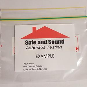 Safe and Sound Asbestos testing Melbourne sample